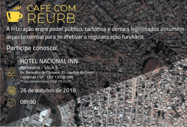 cafe com reurb